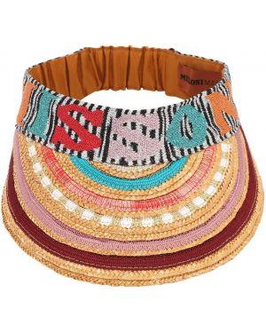 Козырек с логотипом с вышивкой Missoni