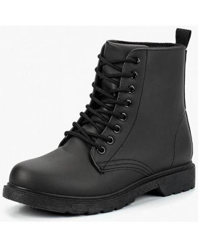 Кожаные ботинки осенние на каблуке Martin Pescatore
