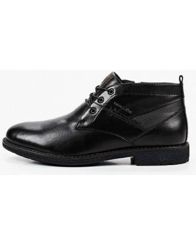 Черные ботинки Thomas Munz