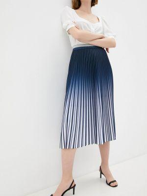 Синяя плиссированная юбка синар