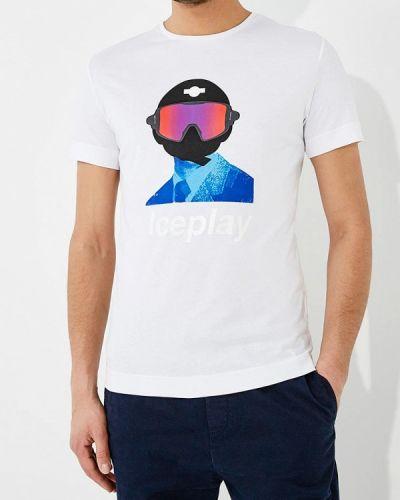 Белая футболка Ice Play