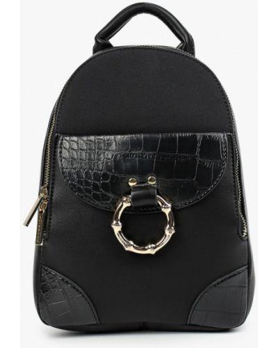 Кожаный рюкзак - черный Skinnydip