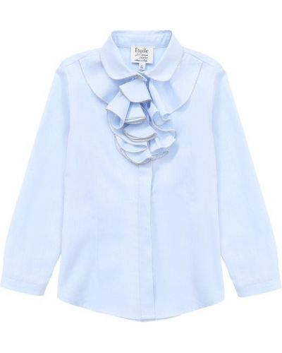 Блузка с рюшами прямая Aletta