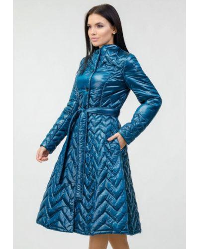 Бирюзовая теплая куртка Raslov