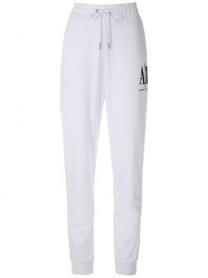 Белые брюки с поясом Armani Exchange