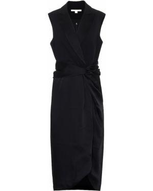 Платье миди модерн черное Jonathan Simkhai