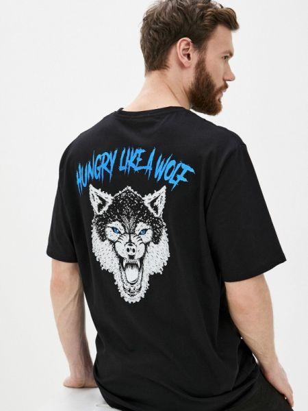 Черная футболка Aarhon