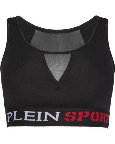 Черный спортивный топ Philipp Plein