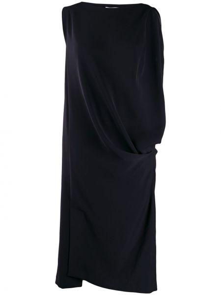 Sukienka rozkloszowana - niebieska Enfold