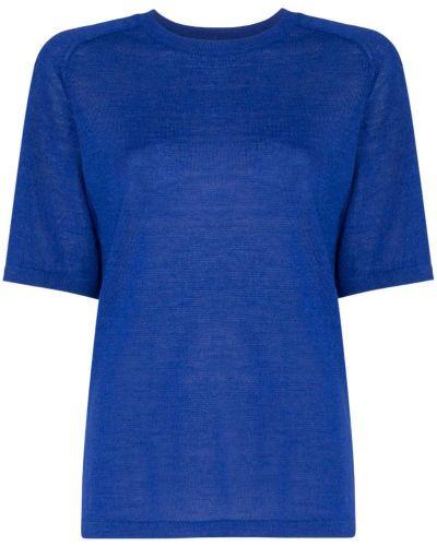 Футбольная синяя футболка Carcel