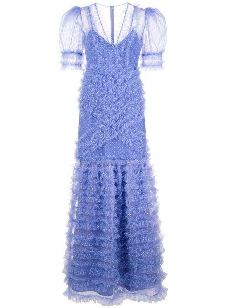 Вечернее платье мини в горошек Alice Mccall