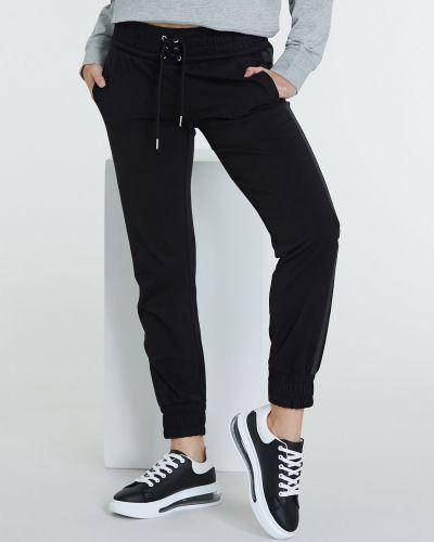 Черные спортивные брюки Piazza Italia