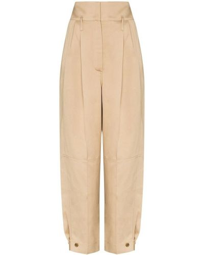 Beżowe spodnie materiałowe Givenchy