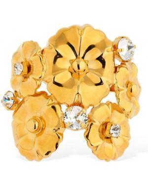 Żółta złota bransoletka ze złota Ca&lou