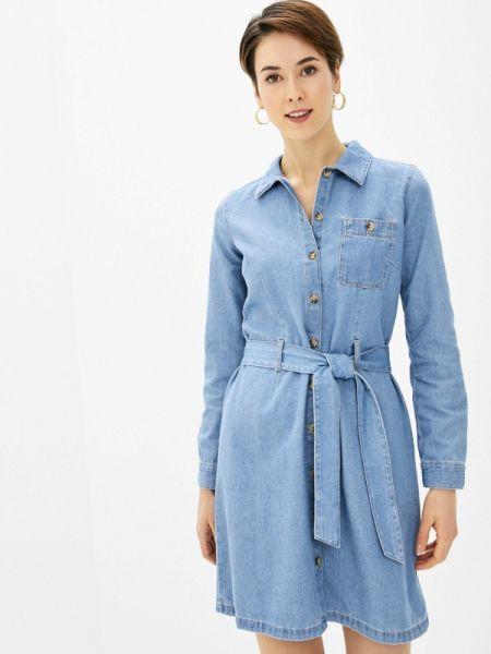 Джинсовое платье весеннее Tom Tailor Denim
