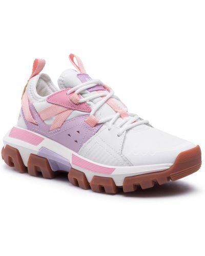 Buty sportowe skorzane - białe Caterpillar
