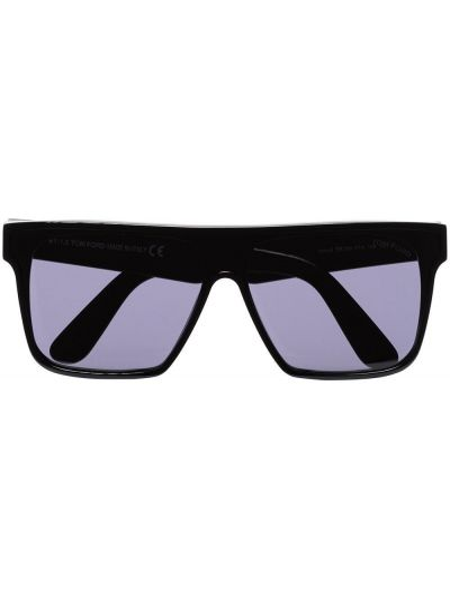 Акриловые черные солнцезащитные очки Tom Ford
