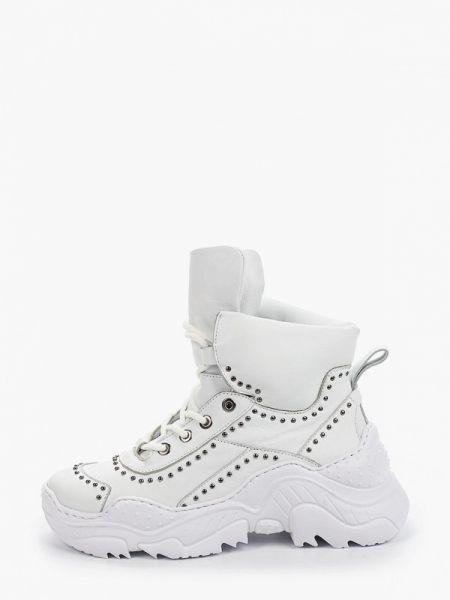 Высокие кроссовки белый Pazolini