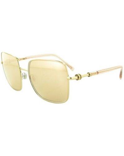 Żółte okulary Bvlgari
