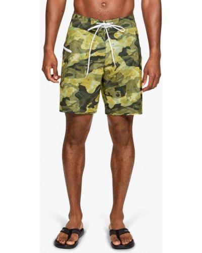 Плавки-боксеры плавки-шорты зеленый Under Armour