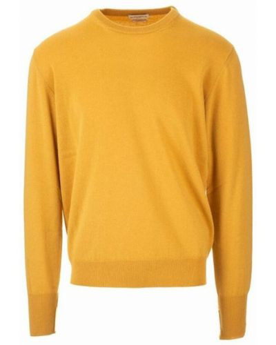 Z kaszmiru sweter - żółty Ballantyne