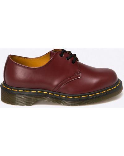 Кожаные туфли на шнуровке на каблуке Dr. Martens