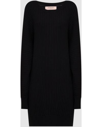 Платье мини - черное Twin-set