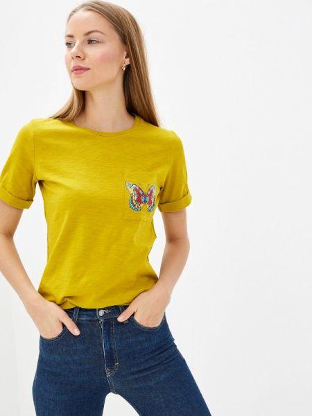 Поло футбольный желтый Fashion.love.story