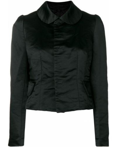 Клубная черная длинная куртка Comme Des Garçons Comme Des Garçons