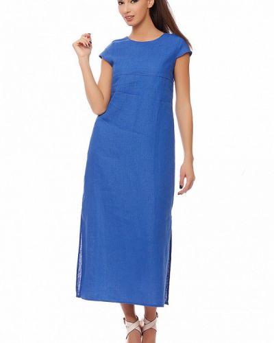 Повседневное синее платье Gabriela