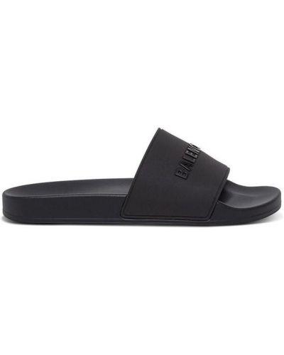 Czarne sandały sportowe Balenciaga