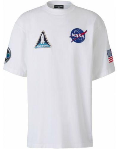 Biała t-shirt Balenciaga