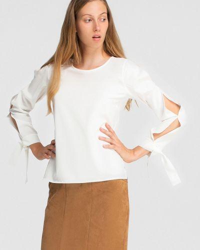 Блузка с длинным рукавом белая Grass