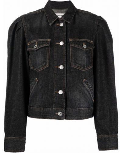 Черная хлопковая куртка Isabel Marant étoile