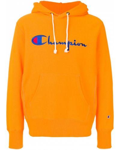 Толстовка с капюшоном с вышивкой с логотипом Champion