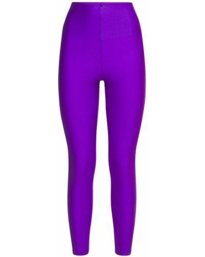 Фиолетовые леггинсы эластичные The Andamane