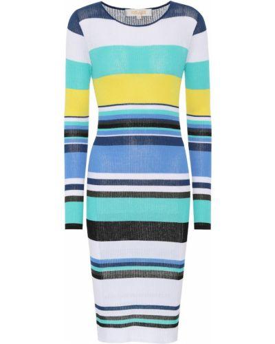 Платье миди в полоску вязаное Diane Von Furstenberg