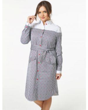 Летнее платье макси в полоску Victoria Filippova