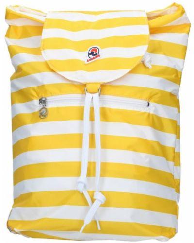 Żółty plecak Invicta