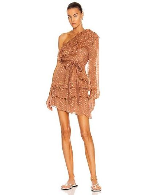 Платье мини - золотое Rococo Sand