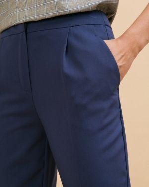 Классические брюки - синие Emka