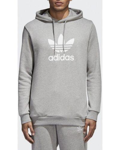 Серое худи Adidas Originals
