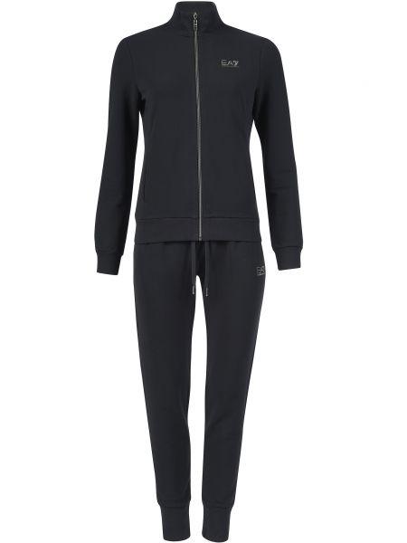 Спортивный костюм черный Ea7 Emporio Armani