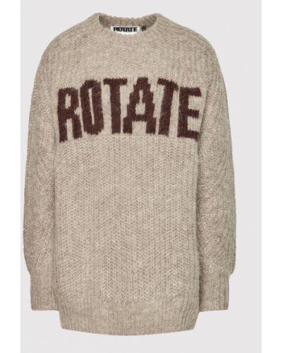 Brązowy sweter Rotate