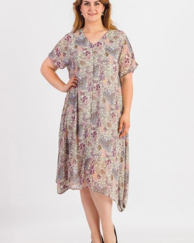 Теплое платье с цветочным принтом с принтом Lacywear