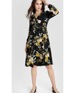 Платье на пуговицах с цветочным принтом Ostin