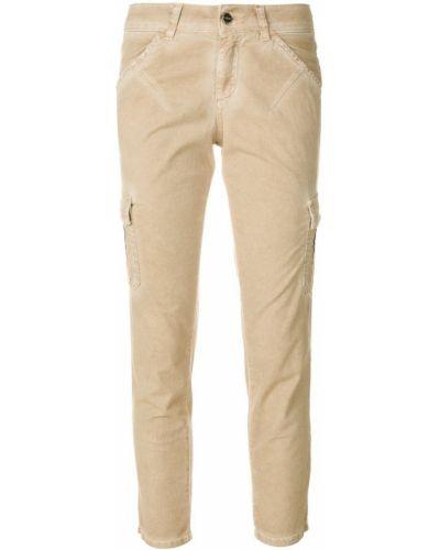 Укороченные брюки с карманами Twin-set