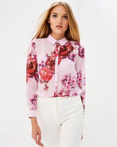 Розовая блузка с длинным рукавом Ted Baker London
