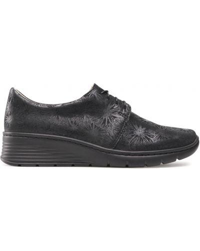 Туфли - черные Waldi