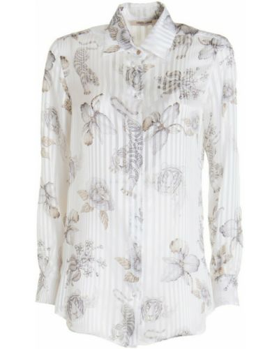 Biała koszula Roberto Cavalli